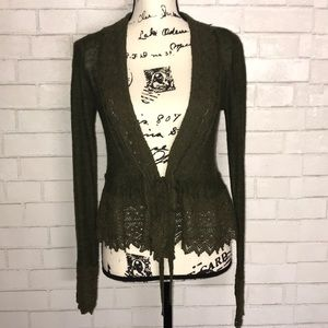 Anthro Guinevere wool cardigan